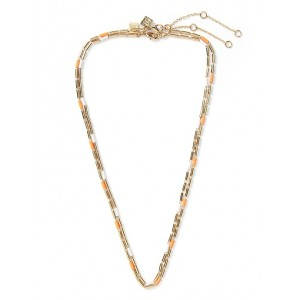 Enamel Tube Chain 2-Pack Necklace