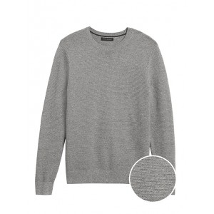 Organic Cotton Crew-Neck Sweater