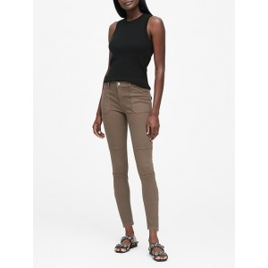 Mid-Rise Skinny Utility Jean