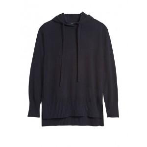 Italian Wool-Blend Sweater Hoodie