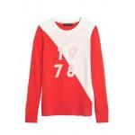 Italian Merino-Blend Graphic Sweater