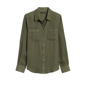 Petite Dillon Classic-Fit Utility Shirt