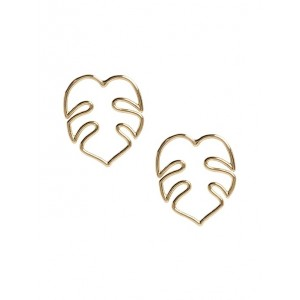 Leaf Outline Earring