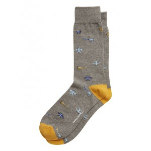 Allover Airplanes Sock