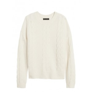 JAPAN EXCLUSIVE Aire Cable-Knit Sweater