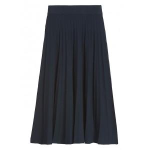 JAPAN EXCLUSIVE Pleated Knit Midi Skirt