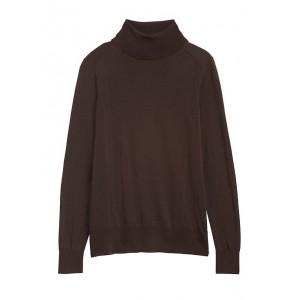 Washable Merino Turtleneck Sweater