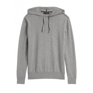 Cotton Cashmere Sweater Hoodie