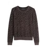 Metallic Leopard Sweater