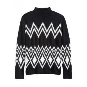 Petite Modern Fair Isle Sweater