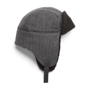 Herringbone Trapper Hat