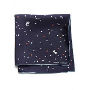 Astronaut Silk Pocket Square