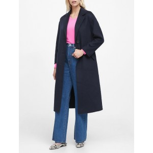JAPAN EXCLUSIVE Double-Faced Unlined Coat