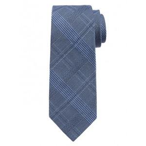 Houndstooth Grid Nanotex® Tie