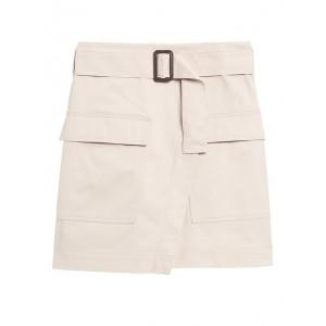 Petite Utility Wrap Skirt
