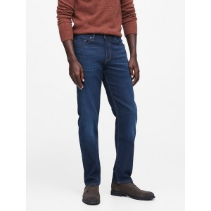 Straight Rapid Movement Denim Jean