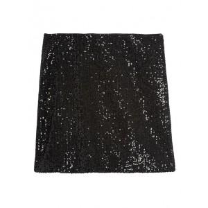 Petite Sequin Mini Skirt