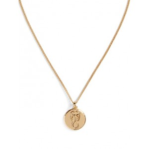 Zodiac Disc Necklace