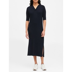 JAPAN EXCLUSIVE Polo Sweater Dress