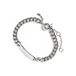 Silver I.D. Bracelet