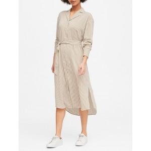 JAPAN EXCLUSIVE Stripe Shirt Dress