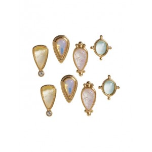 Dainty Color Stud Earrings 4-Pack