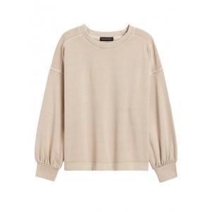 Balloon-Sleeve Sweatshirt