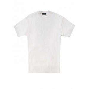 JAPAN EXCLUSIVE Cotton-Blend Short-Sleeve Sweater