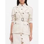 Petite Heritage Cotton-Linen Safari Jacket