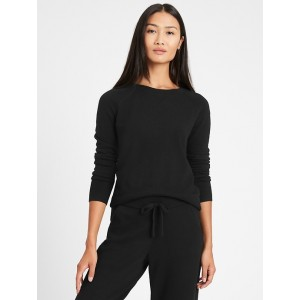 Italian Wool-Cashmere Cropped Sweater