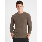 Wool-Blend Crew-Neck Sweater