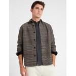 Double-Weave Shirt Jacket