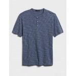 Organic Soft Wash Henley T-Shirt