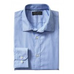 Standard-Fit Non-Iron Pattern Shirt