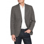 Slim-Fit Glen Plaid Blazer