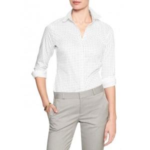 Tailored Non-Iron Long Sleeve Print Shirt
