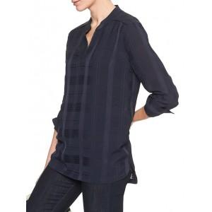 Long Sleeve Notch Neck Tunic