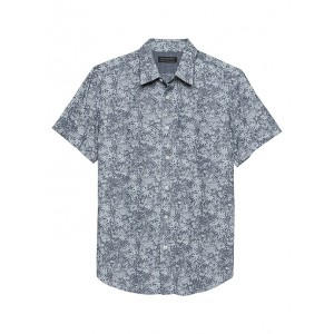 Standard-Fit Soft Wash Stretch Chambray Shirt
