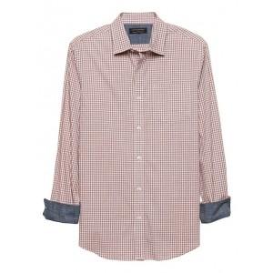 Slim-Fit Soft-Wash Yarn Dye Shirt