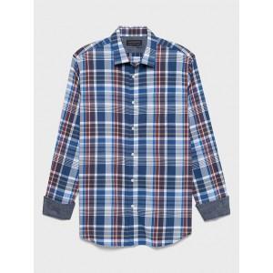 Standard-Fit Soft-Wash Yarn Dye Shirt