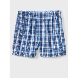 Blue Plaid Boxers