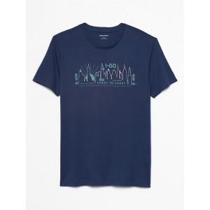 Skyline Graphic T Shirt