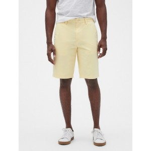 """11"""" Emerson Straight-Fit Shorts"""