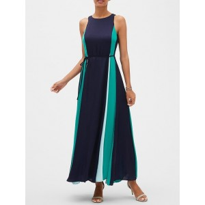 Petite Panel Maxi Dress