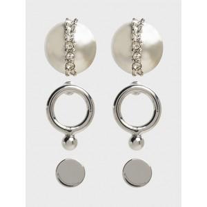Stud 3 Pack Earrings