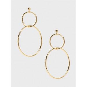 Demi Double Hoop Earrings