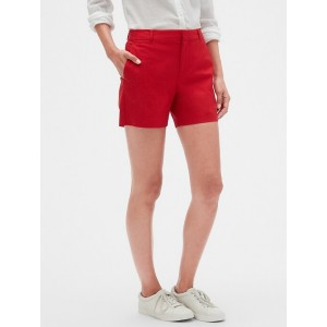 Tailored Pique Shorts - 5 inch inseam