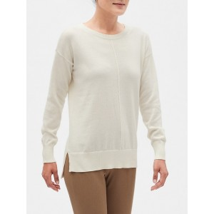 Petite Boatneck Pullover Sweater