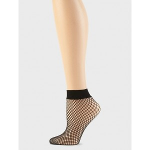 Fishnet Sheer Bootie Socks