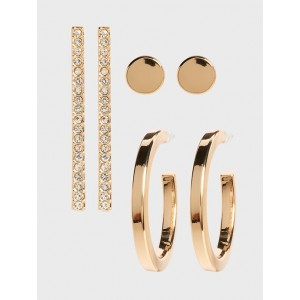 Pave Statement Multipack Earrings